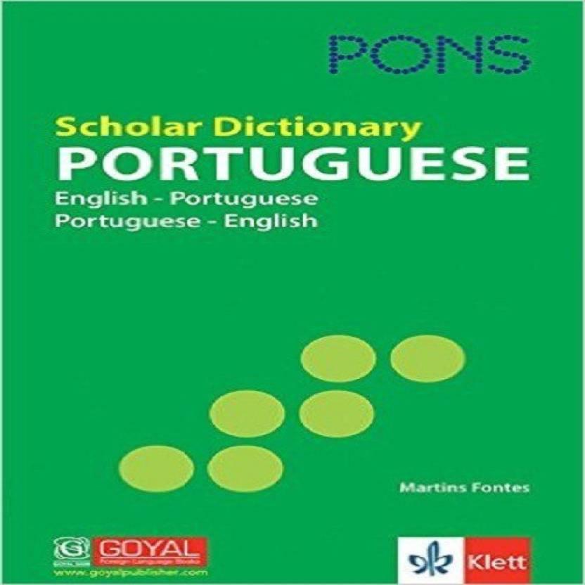 Pons Scholar Dictionary Portuguese