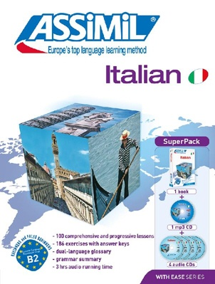 Italian with Ease (with 4 CDs)