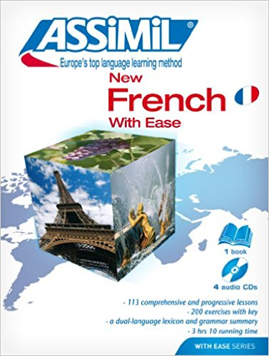 ASSIMIL French With Ease Beginners Book with 4 CDs