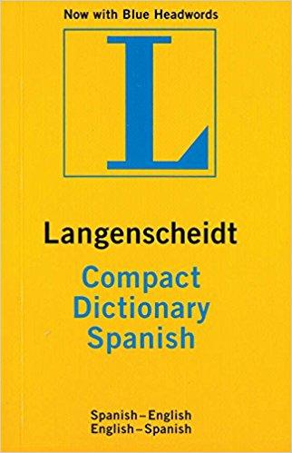 Langenscheidt Compact Spanish Dictionary