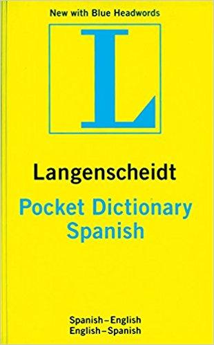Langenscheidt Pocket Spanish Dictionary