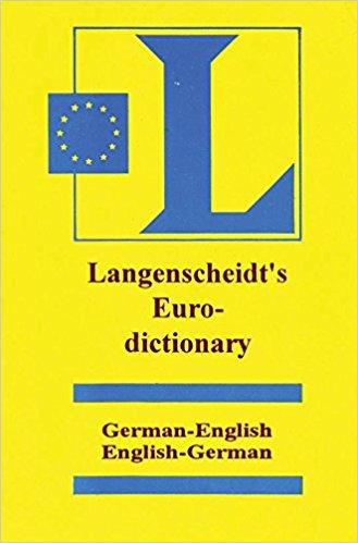 Langenscheidt Euro Dictionary