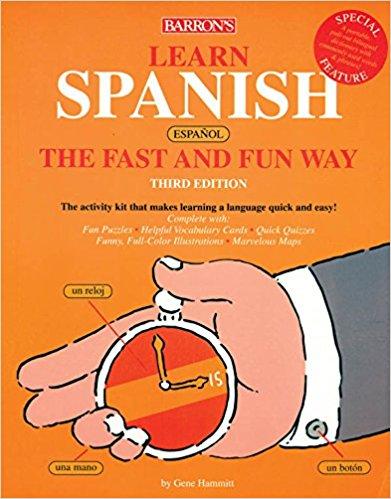 Spanish Fast & Fun Way, Book + 4CDs