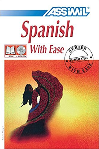Spanish With Ease Book with 4 CDs