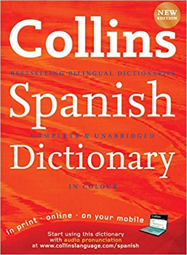 Collins Spanish Dictionary – Hardback Big Edition