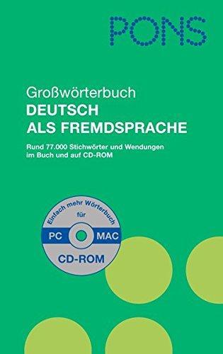 Pons Grobworterbuch DAF + CD