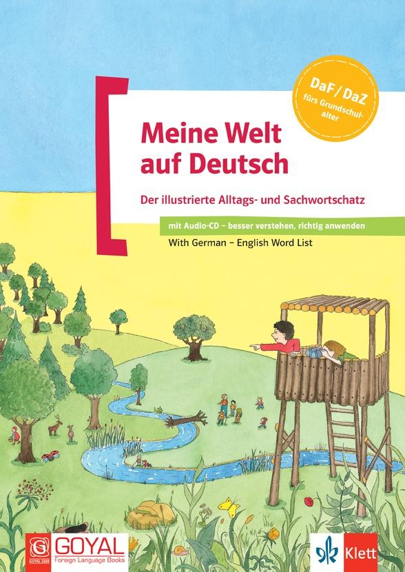 Meine Welt auf Deutsch + CD