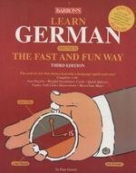 German Fast and Fun Way Book with 4 CDs – Barron's