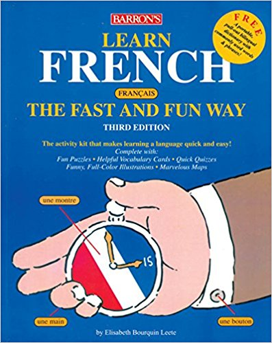 Barron's French Fast and Fun Way Book with 4 CDs