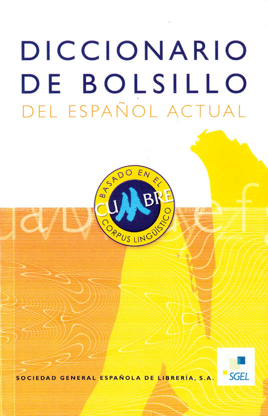 Dictionario de Bolsillo del Espanol – SGEL (Spanish-Spanish)