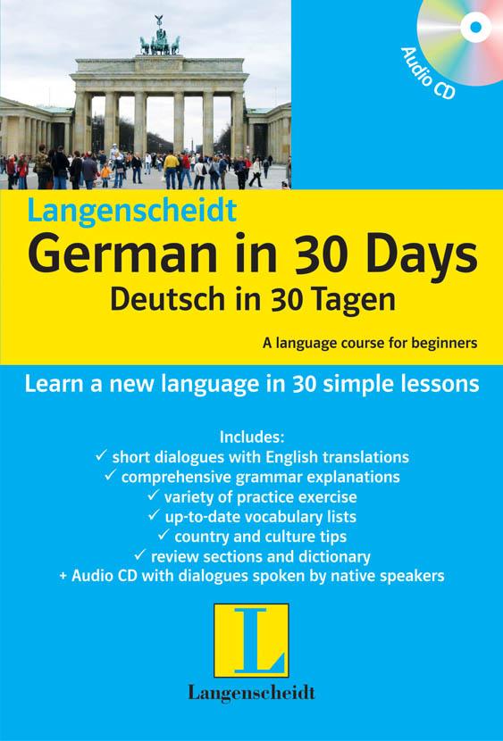 German in 30 Days Book with CD – Langenscheidt