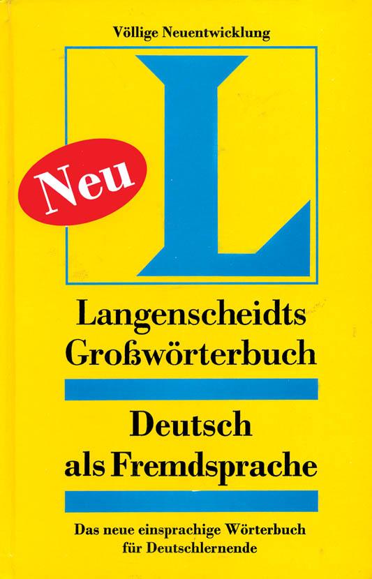 Langenscheidt Grobworterbuch DAF