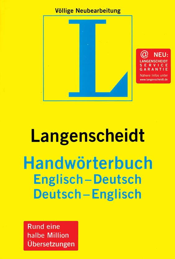 Langenscheidt Handworterbuch
