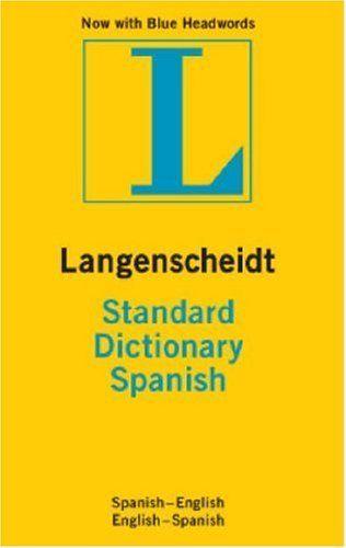 Langenscheidt Standard Spanish Dictionary