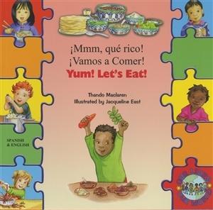 YUM! LET'S EAT! (BILINGUAL)- Language Lizard